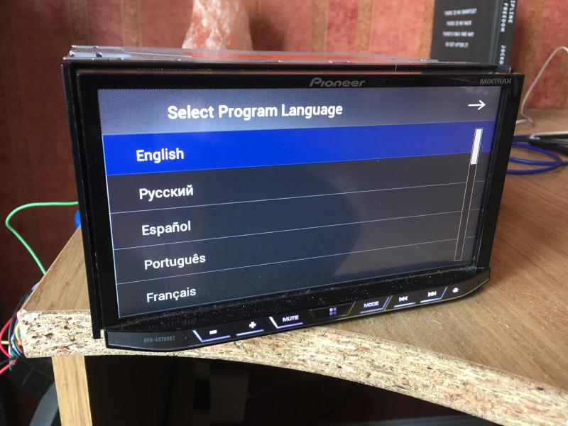 Hedendaags Pioneer AVH-X8700BT Password Reset - Random Geekage KN-02